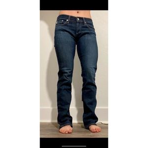 AG Tomboy Relaxed Fit Straight Leg Jeans
